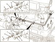 【燃油引流管】康明斯CUMMINS柴油机的3352368 燃油引流管
