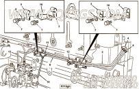 【流血管】康明斯CUMMINS柴油机的3063570 流血管