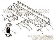 3820317螺栓,用于康明斯M11-C175发动机排气管组,更多【徐工拌合机】配件报价