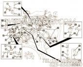【燃油供应管】康明斯CUMMINS柴油机的3064671 燃油供应管
