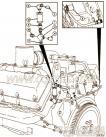 【燃油供应管】康明斯CUMMINS柴油机的3043406 燃油供应管