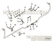【外螺纹弯头】康明斯CUMMINS柴油机的3096470 外螺纹弯头
