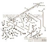 【燃油引流管】康明斯CUMMINS柴油机的3628243 燃油引流管