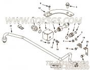 【燃油引流管】康明斯CUMMINS柴油机的4925115 燃油引流管