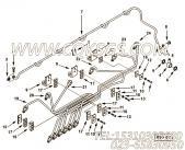 【喷油器的电源管】康明斯CUMMINS柴油机的3924739 喷油器的电源管
