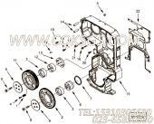 【引擎6BTA5.9的风扇驱动安装件组】 康明斯六角法兰面螺栓报价,参数及图片