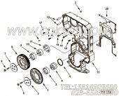 【发动机6CTA8.3-C240-II的飞轮壳组】 康明斯螺塞总成报价,参数及图片