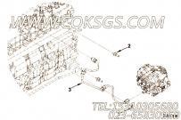 【发动机QSB6.7-C215的燃油管路组】 康明斯双头螺柱报价,参数及图片