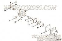 FV8010燃油切断阀,用于康明斯KTA19-G2(M)柴油机燃油管路组,更多【船用】配件报价