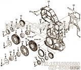 【引擎ISZ425 40的缸体组】 康明斯曲轴前油封报价,参数及图片