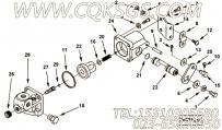 【圆头螺栓】康明斯CUMMINS柴油机的145345 圆头螺栓