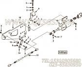 【电缆支架】康明斯CUMMINS柴油机的3924430 电缆支架