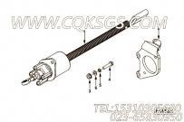 【柴油机6CTA8.3-M205的断油电磁阀组】 康明斯断油电磁阀支架报价,参数及图片