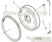 【六角头螺栓】康明斯CUMMINS柴油机的172491 六角头螺栓