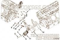 【凸轮轴盖】康明斯CUMMINS柴油机的2863042 凸轮轴盖
