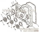 【齿轮罩】康明斯CUMMINS柴油机的3819256 齿轮罩