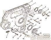 【齿轮罩】康明斯CUMMINS柴油机的3252211 齿轮罩