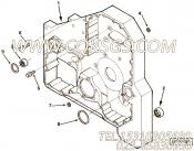 3820945矩形密封圈,用于康明斯M11-C350H柴油发动机气缸体组,更多【打桩机】配件报价