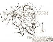 3818060带垫螺栓,用于康明斯M11-C350发动机油门拉杆组,更多【通联重工矿用自卸车】配件报价