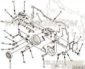 【齿轮罩】康明斯CUMMINS柴油机的3092797 齿轮罩