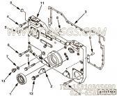【齿轮罩】康明斯CUMMINS柴油机的3094086 齿轮罩