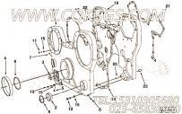 3008429齿轮室,用于康明斯KTA38-G5-800GF柴油发动机前齿轮室盖组,更多【柴油发电】配件报价