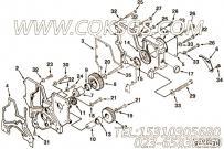 【齿轮罩】康明斯CUMMINS柴油机的C0103071900 齿轮罩
