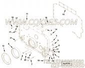 【六角法兰六角螺钉】康明斯CUMMINS柴油机的3089296 六角法兰六角螺钉