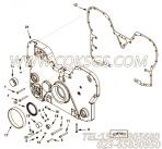 【齿轮罩】康明斯CUMMINS柴油机的4916778 齿轮罩