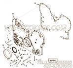 【齿轮罩】康明斯CUMMINS柴油机的4917309 齿轮罩
