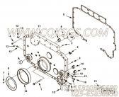 【齿轮罩】康明斯CUMMINS柴油机的4924609 齿轮罩