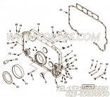 【齿轮罩】康明斯CUMMINS柴油机的3171697 齿轮罩