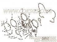 【齿轮罩】康明斯CUMMINS柴油机的3638992 齿轮罩