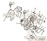 【齿轮盖板】康明斯CUMMINS柴油机的4900315 齿轮盖板