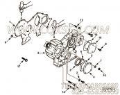 【齿轮罩】康明斯CUMMINS柴油机的4900779 齿轮罩