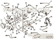 【控制面板】康明斯CUMMINS柴油机的C0301899000 控制面板