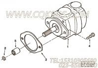 3023506花键套,用于康明斯NTA855-P360柴油发动机液压泵驱动组,更多【应急水泵机组】配件报价