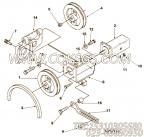 【Belt, V】康明斯CUMMINS柴油机的3040288 Belt, V