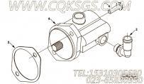 【柴油机ISC8.3-270E40A的液力转向泵组】 康明斯动力转向泵报价,参数及图片