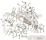 3202127水管支架,用于康明斯KTA19-M500发动机热交换器组,更多【船用】配件报价