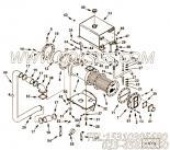 3202132夹子,用于康明斯KTA19-M640动力热交换器组,更多【船机】配件报价