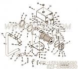 3024234膨涨水箱支架,用于康明斯KTA19-G4发动机热交换器组,更多【动力电】配件报价