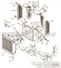 3050217水箱,用于康明斯KT19-C450主机水箱组,更多【内燃机车】配件报价