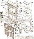 【散热器侧面会员】康明斯CUMMINS柴油机的3003859 散热器侧面会员