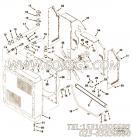 3011291风扇罩壳板,用于康明斯KT19-C450柴油发动机水箱组,更多【轨道车】配件报价