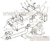 【软管】康明斯CUMMINS柴油机的3275209 软管