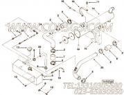 【柔性软管】康明斯CUMMINS柴油机的3918493 柔性软管