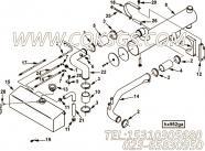 【Tube, Water Transfer】康明斯CUMMINS柴油机的3913753 Tube, Water Transfer