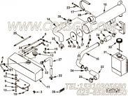 【软管】康明斯CUMMINS柴油机的3393635 软管