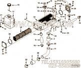 【热交换器】康明斯CUMMINS柴油机的4003581 热交换器
